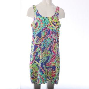 Lilly Pulitzer Pink Label Bright Floral Silk Mini